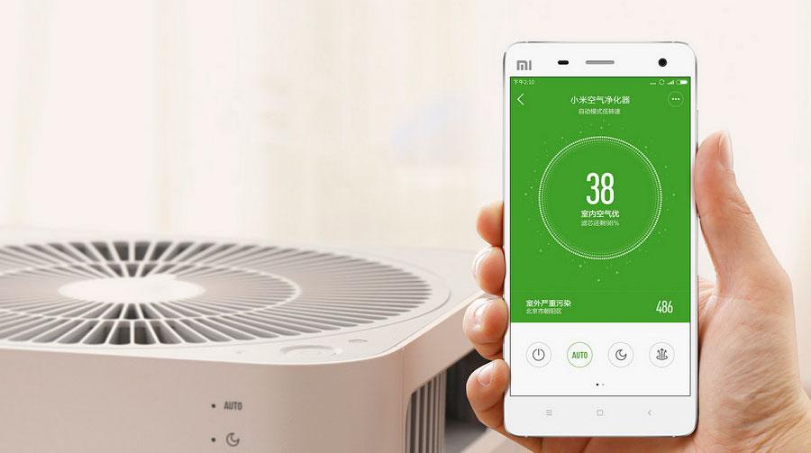 Aplikacja do oczyszczacza powietrza Xiaomi 2s