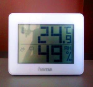 Miernik temperatury i wilgotności powietrza