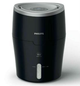 Czarny nawilżacz powietrza Philips HU4813 przód