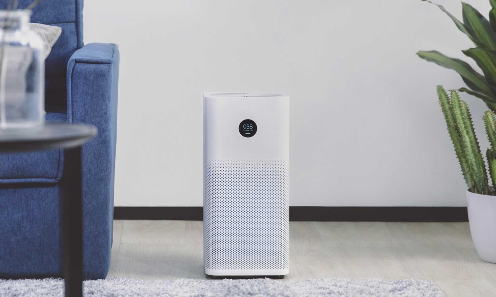 Oczyszczacz Xiaomi Air Purifier 2S w pokoju