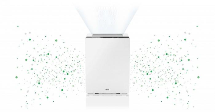 Jonizacja powietrza w oczyszczaczy powietrza Ideal AP 15