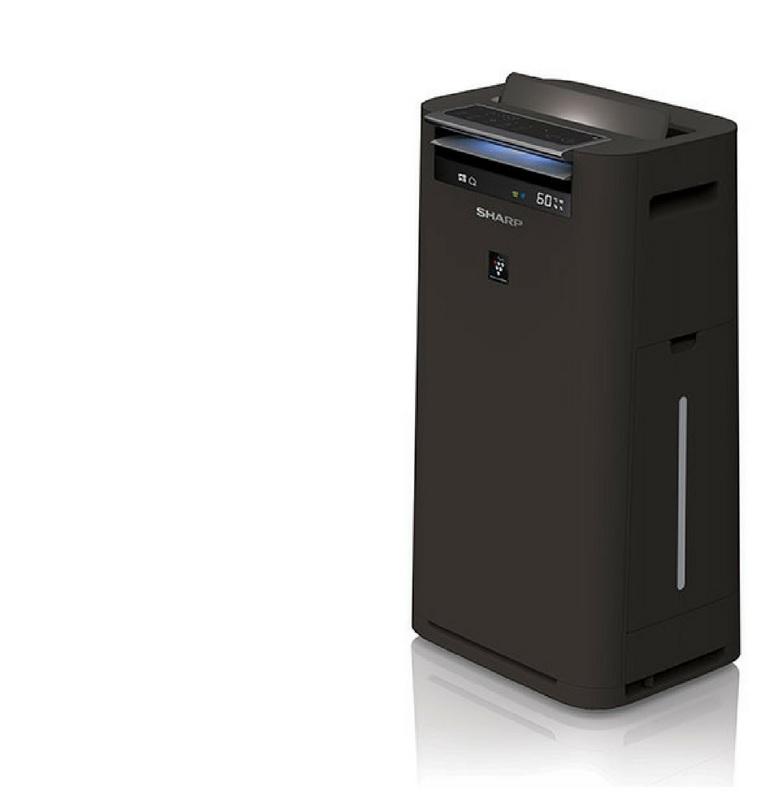 Oczyszczacz Sharp KC-G40EUW czarny