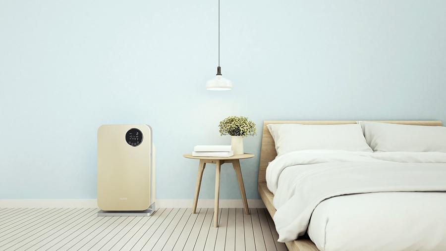 Oczyszczacz powietrza Klarta Forste 2 w salonie