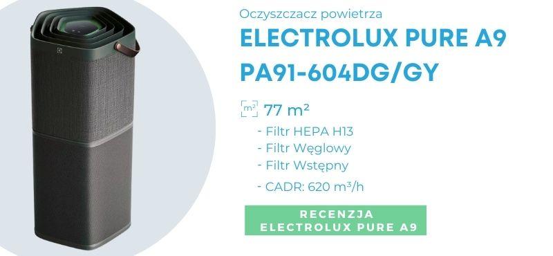 Oczyszczacz dla alergików - Electrolux Pure A9 PA91-604DG/GY