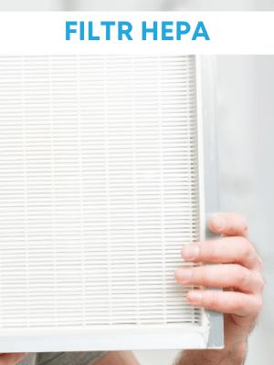 Filtr Hepa w oczyszczaczach powietrza