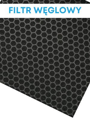 Filtr węglowy w oczyszczaczach powietrza