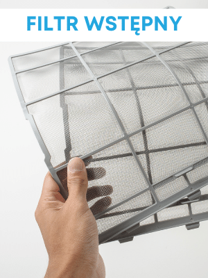 Filtr wstępny w oczyszczaczach powietrza