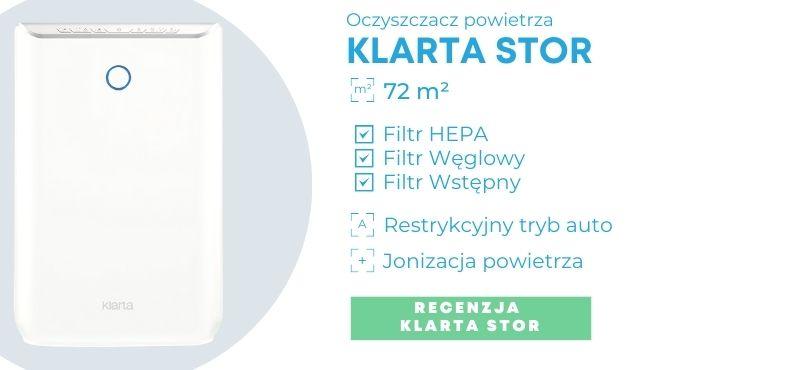 Oczyszczacz powietrza dla alergików Klarta Stor