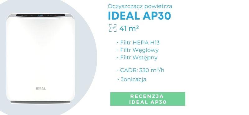 Oczyszczacz powietrza dla alergika IDEAL AP30