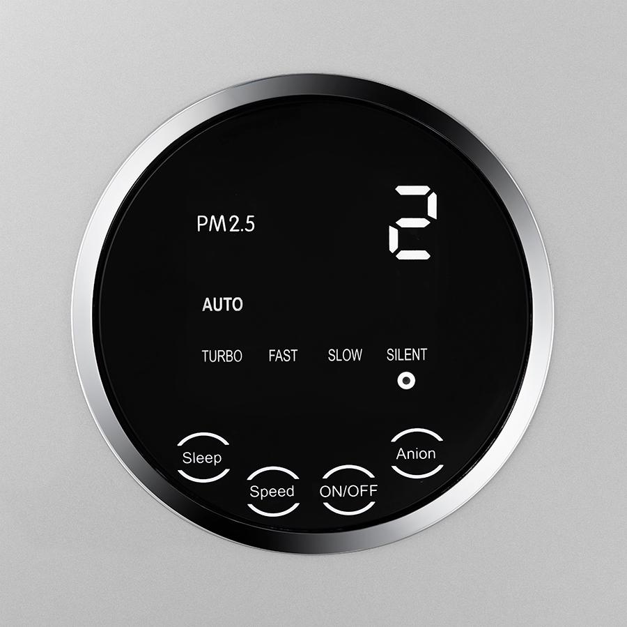 Wskaźnik pyłu PM2,5 w oczyszczaczu powietrza Klarta Forste 3