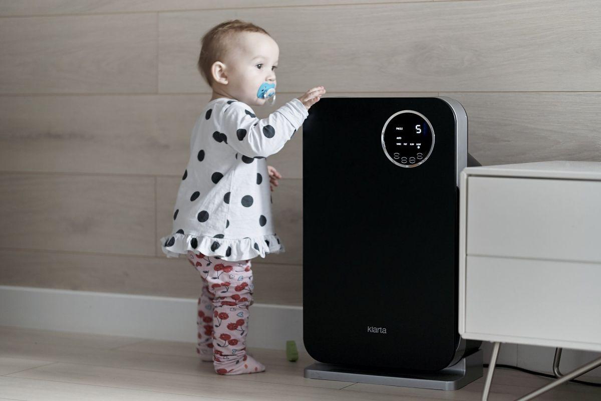 Oczyszczacz powietrza Klarta Forste 3 - czarny