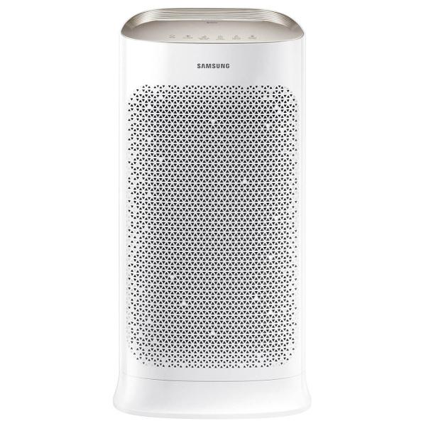 Oczyszczacz powietrza Samsung AX60 ze srebrnym panelem