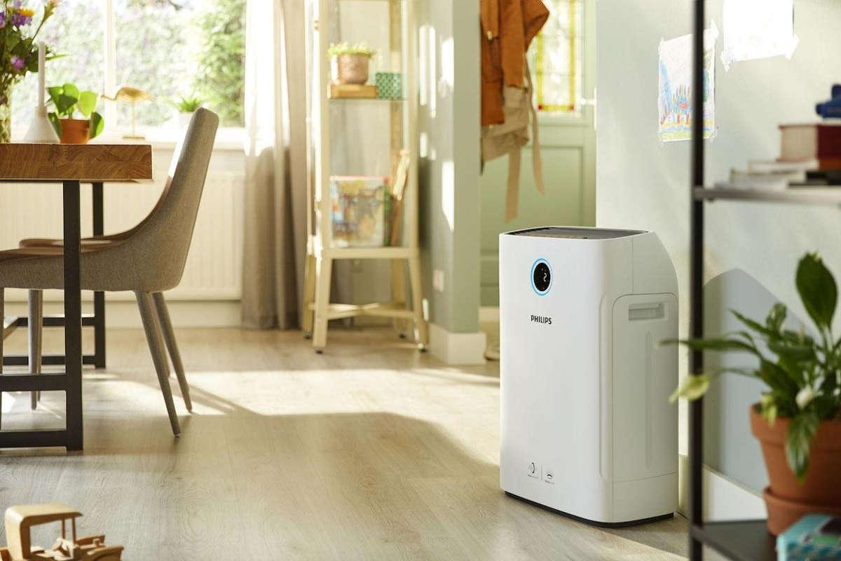 Oczyszczacz powietrza Philips AC2779-50 w pokoju