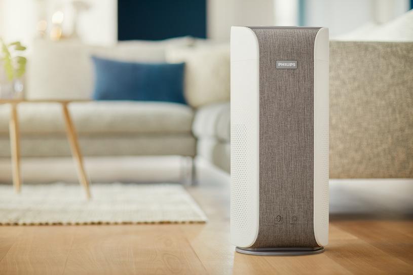 Oczyszczacz powietrza Philips AC3858-50 Dual Scan w pokoju