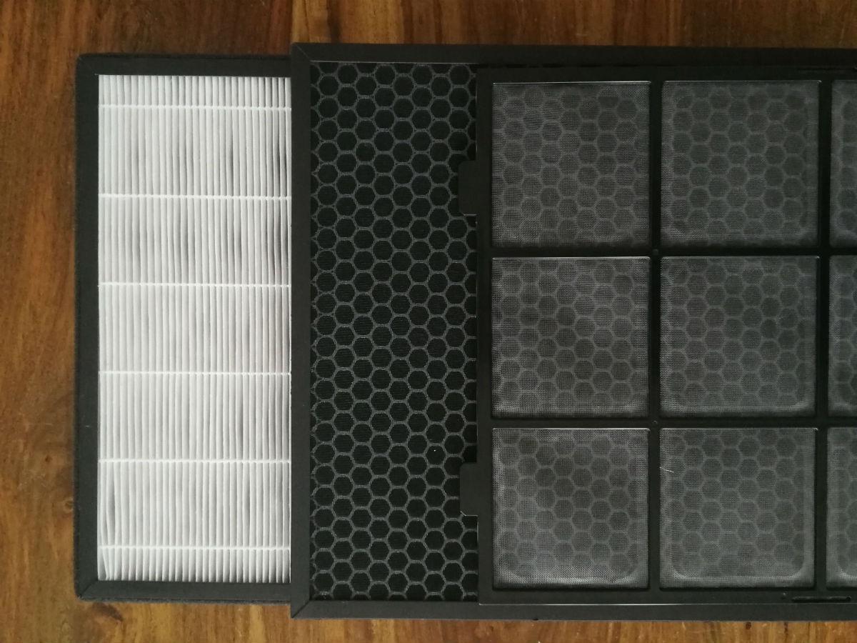 filtry do oczyszczacz powietrza - filtr HEPA, filtr węglowy i wstępny