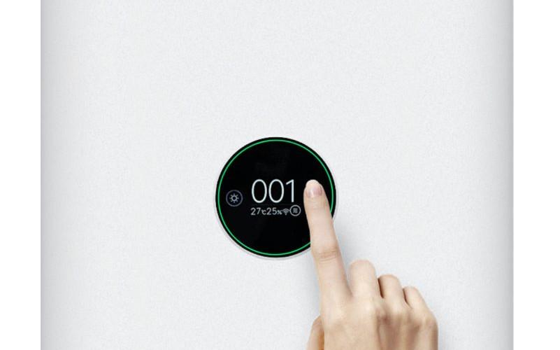 Wyświetlacz OLED w oczyszczaczu powietrza Xiaomi Air Purifier Pro H