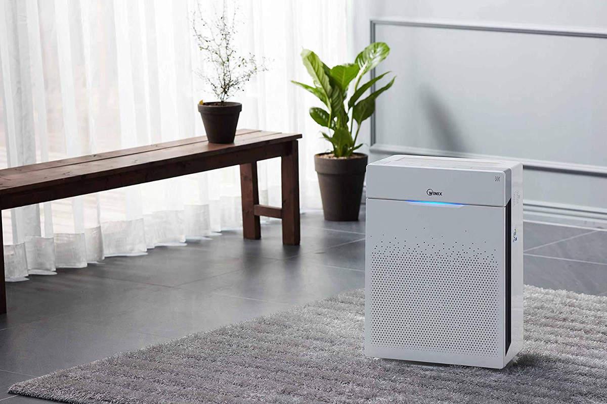 Oczyszczacz powietrza Winix Zero w pokoju