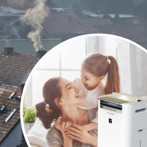 Ochrona przed smogiem - oczyszczacz powietrza