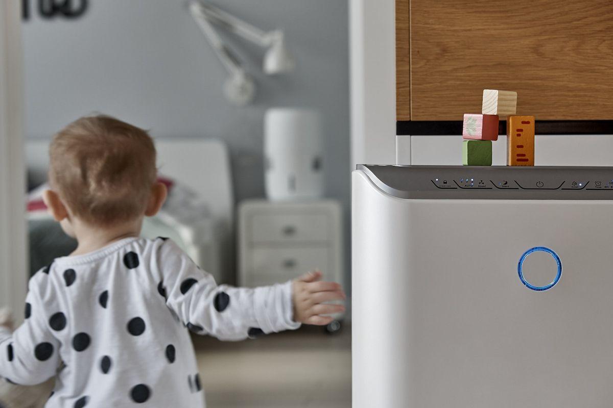 Oczyszczacz powietrza Klarta Stor i nawilżacz powietrza Klarta Humea Wifi