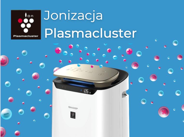 Jonizacjan Plasmacluster w oczyszczaczach powietrza sharp