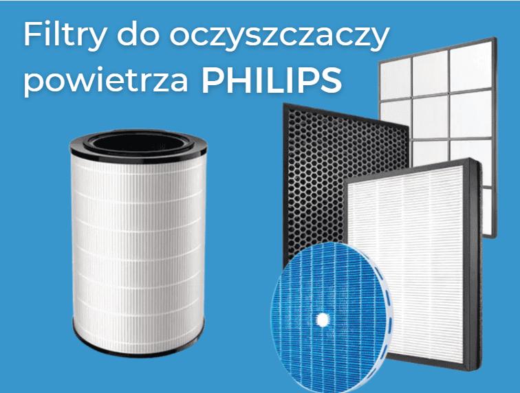 Filtry do oczyszczaczy powietrza Philips