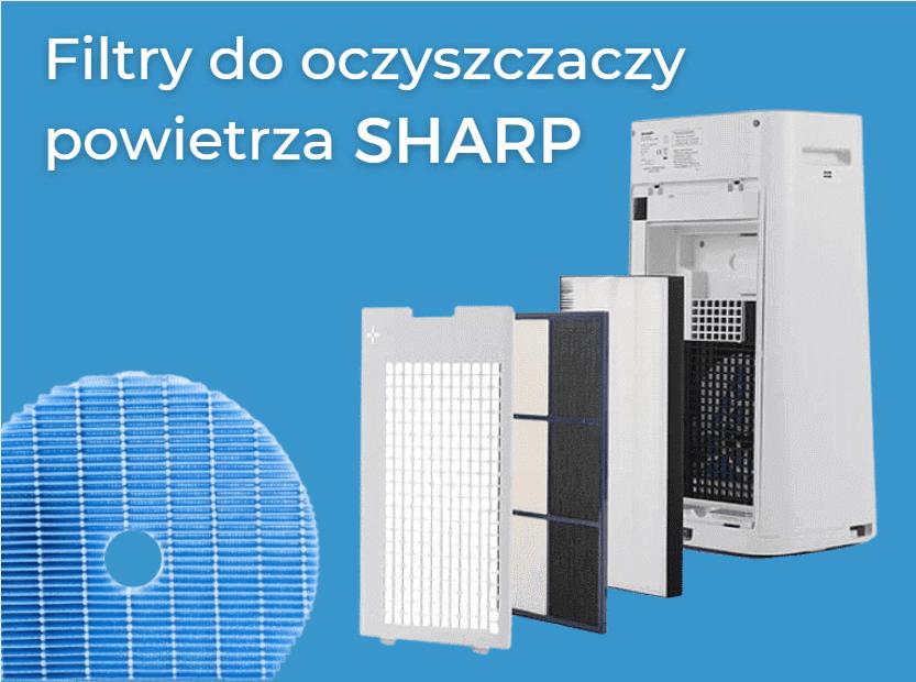 Filtry do oczyszczaczy powietrza Sharp