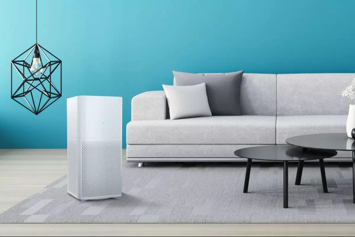 Oczyszczacz powietrza Xiaomi Air Purifier 2C w salonie