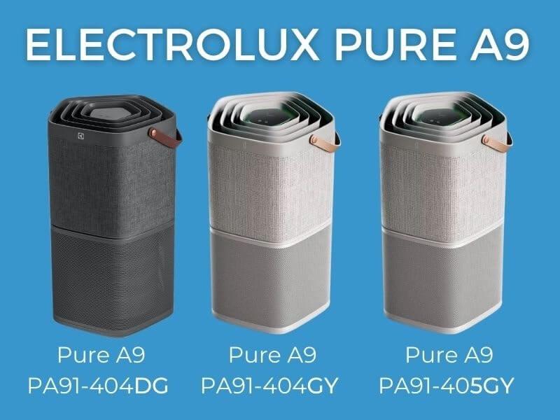 Porównanie oczyszczaczy Electrolux seria 404/405