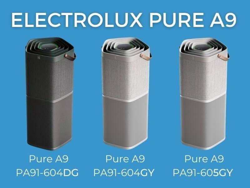 Porównanie oczyszczaczy powietrza Electrolux seria 604/605