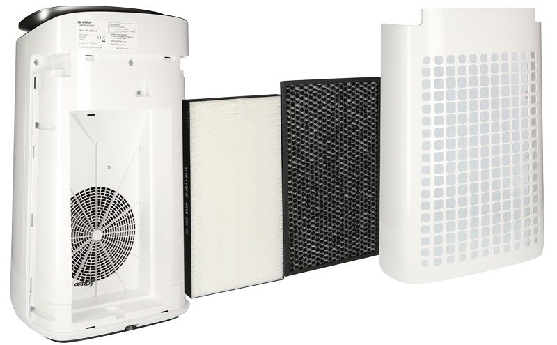 Oczyszczacz powietrza Sharp FP-J60EUW z filtrami