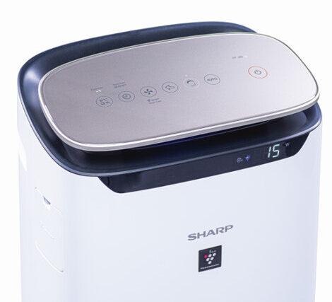 Panel sterowania oczyszczacza Sharp FP-J80EUW