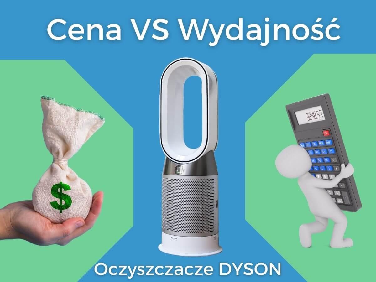 cena oczyszczaczy powietrza Dyson a wydajnosc | Wybierzoczyszczacz.pl