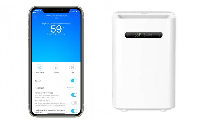 Xiaomi Pure Evaporative 2 z aplikacją