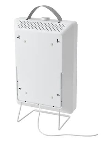 Oczyszczacz powietrza Ikea Förnuftig biały od tyłu