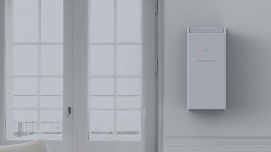 Oczyszczacz powietrza LIFAar LAF200 na ścianie
