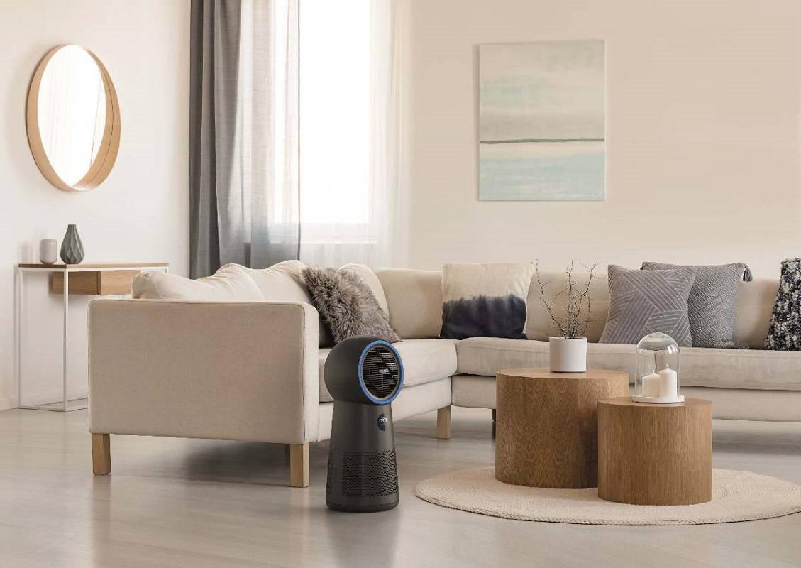 Oczyszczacz powietrza Philips AMF220/15 3w1 w salonie
