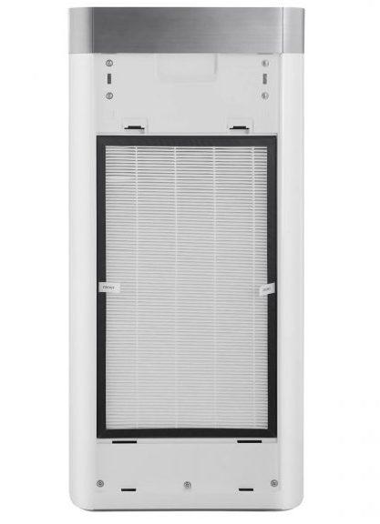 Oczyszczacz powietrza Toshiba CAF-Y92XPL z otwartą pokrywą filtrów